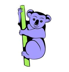 koala icon cartoon vector image vector image