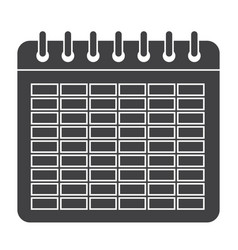 school timetable icon vector image vector image