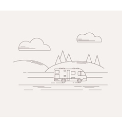 Travel in linear style vector