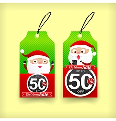Collection of christmas web tag banner promotion vector