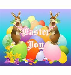 victorian bunny vector image
