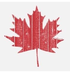 Leaf On Fence vector image