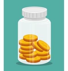 money concept design vector image
