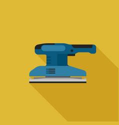 sander flat icon vector image vector image