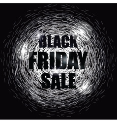 Black friday sale design banner vector