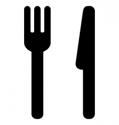 Dining icon vector