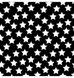 Colored Star Hypnotic Background Seamless Pattern vector image