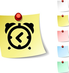 alarm-clock icon vector image