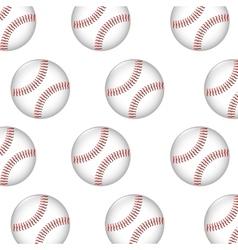 baseball ball icon graphic vector image