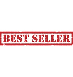 Best seller stamp vector image