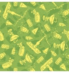 Pharmaceutical seamless pattern vector