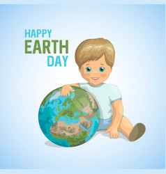 World environment day design vector