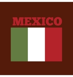 mexico country flag vector image