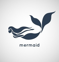 mermaid vector image