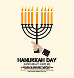 Hanukkah day celebration vector