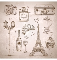 Elements of paris vector