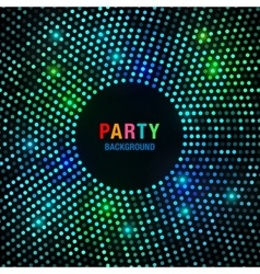 Abstract Circular Colorful Bright Glow Background vector image vector image