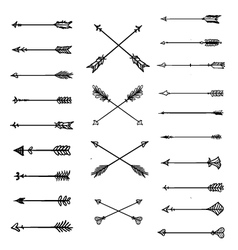 Arrow clipart white background aztec arrows vector image