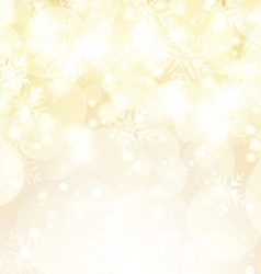 Snowflakes and stars background vector image