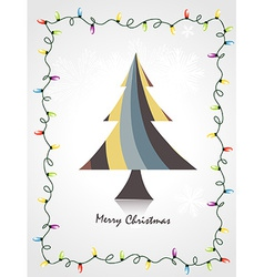 Funky christmas art vector