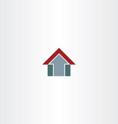 Arrow home symbol design icon vector