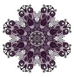 Beautiful deco colored mandala vector