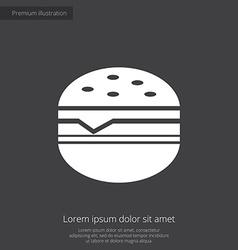 sandwich premium icon vector image