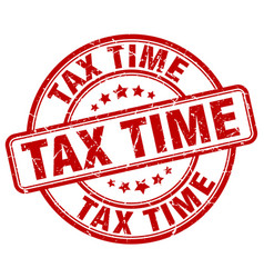 Tax time stamp vector