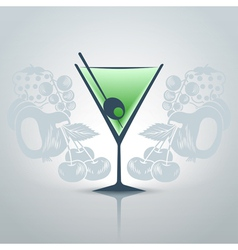 Glassofmartini vector