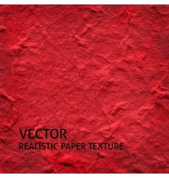 Red textured paper background vector image