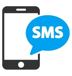 Phone sms icon vector