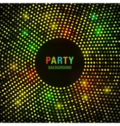 Abstract circular colorful bright glow background vector