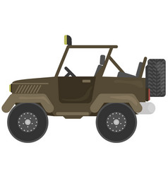 Car for hunter vector