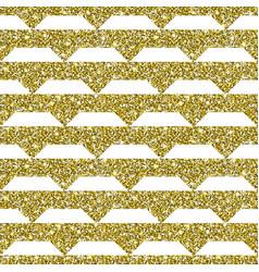 gold glitter geometric pattern background vector image