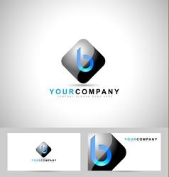 Letter B Logo Design vector image vector image