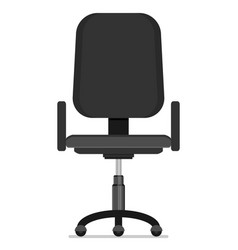 office chair flat vector image vector image