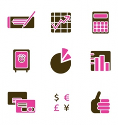 office object icon vector image