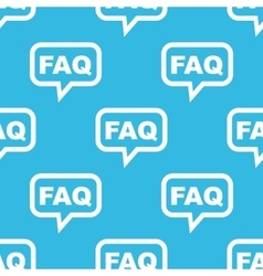 Faq message pattern vector