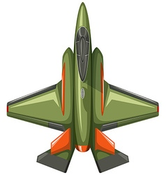 Modern design of jet plane vector