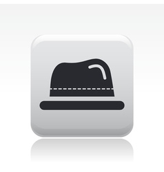 Hat icon vector