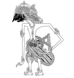 Prabu Banaputra vector image
