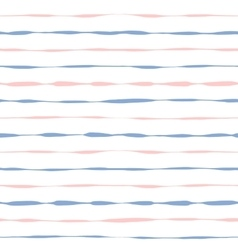 Seamless background grunge pink and blue stripes vector image