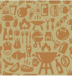 Barbecue icons vector