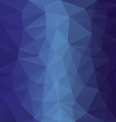 Blue sky ocean polygonal triangular pattern vector
