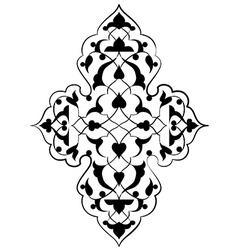 Artistic ottoman pattern series seventy three vector
