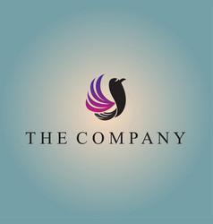 Bird logo ideas design vector