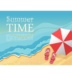 Summertime vector