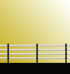 Fence for background vector