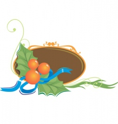 fruits and leaf vector image vector image