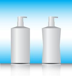 White pump bottle vector